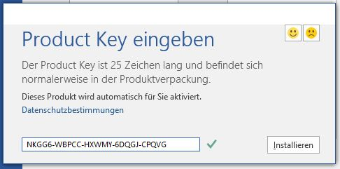 microsoft office word 2016 product key