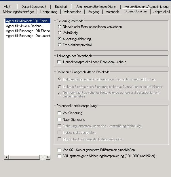 SQl Datenbank sichern mit Arcserve - MS SQL Server Forum - MCSEboard.de