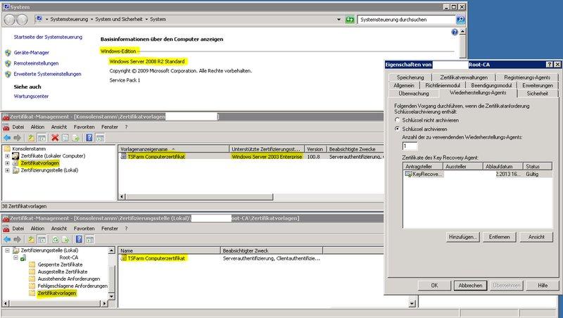Zertifikatvorlage V2 wird nicht angezeigt - Windows Server Forum ...