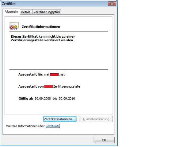 OWA + SSL + Zertifikat - MS Exchange Forum - MCSEboard.de