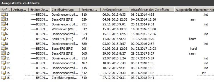 2008R2 DC - Zertifizierungsstellenzertifikat / DC läuft ab - Problem ...